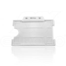 Plástico Blanco Abierto 9x6