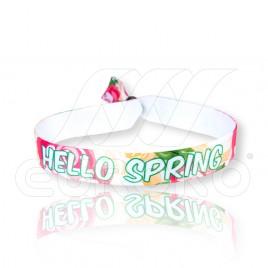 Hello Spring - Pulsera de Tela (15mm) OFERTA!