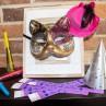 Pulsera de papel para Carnavales