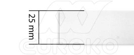 25mm - +0,080 € (+0,096 € Impuestos incluidos)