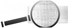 Poliéster plano y satinado (20mm)