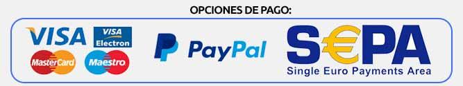 Opciones de pago